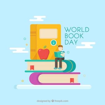Всемирный день книги фон в квартире syle
