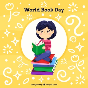 ワールドブックの日の背景