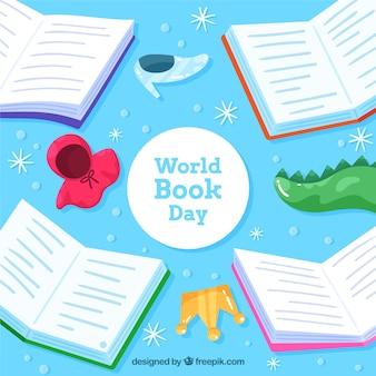World book day background
