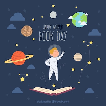 World book day background