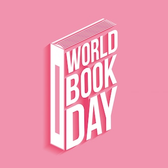 World book day card