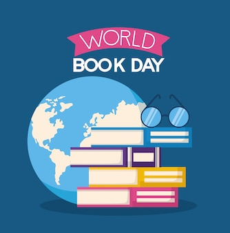 World book day illustration