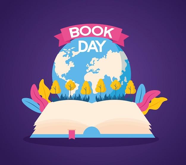World book day illustration