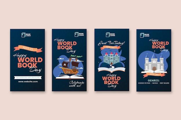 世界の本の日インスタグラムストーリーコレクション