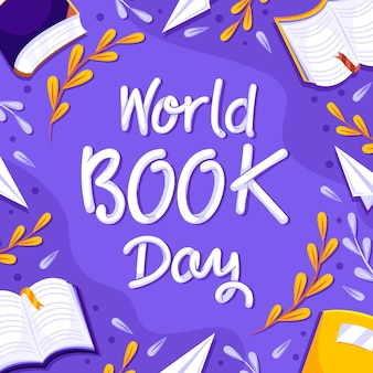 World book day lettering