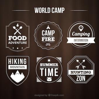 World camp badges