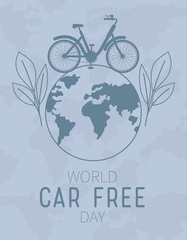 世界のカーフリーデーポスター