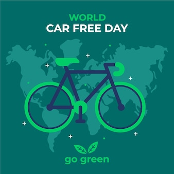 World car free day theme