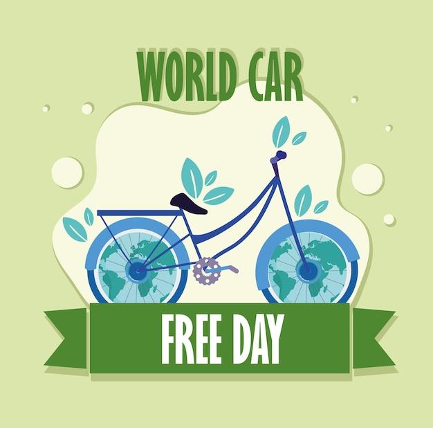 World car free eco friendly