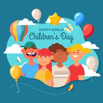 World childrens day draw
