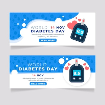 World diabetes day banner