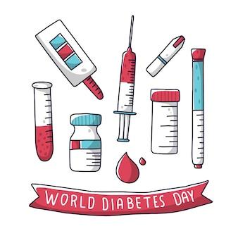 世界糖尿病デーセットツール