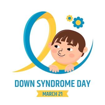 세계 다운 증후군의 날 그림
