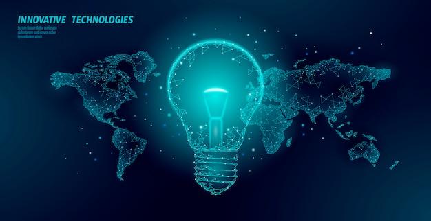 世界の地球時間の電球のコンセプト。