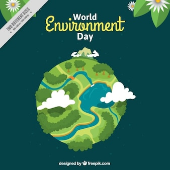 World environment day background