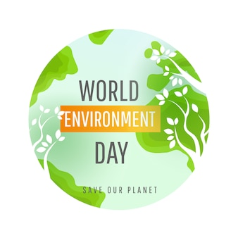 World environment day concept.