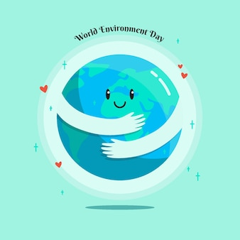 World environment day illustrated concept