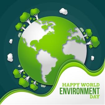 紙風の世界環境デー