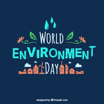 World environmental day background