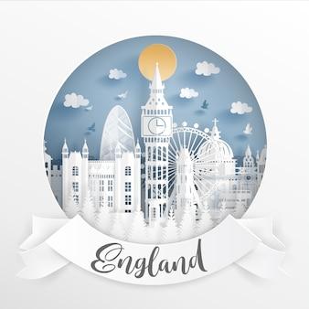 World famous landmark of London