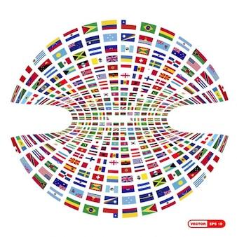 세계 국기 모음