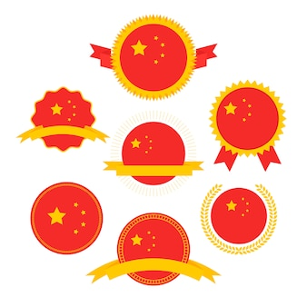 World flags series, flag of china,
