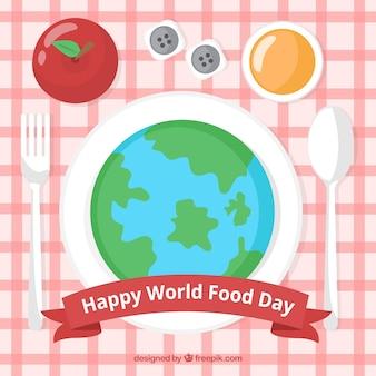 세계 음식의 날 배경