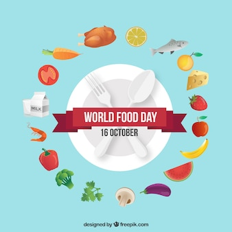 World food day background