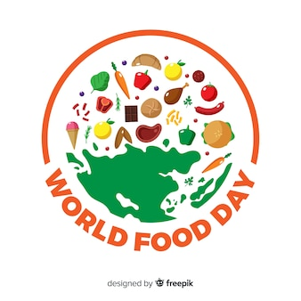 World food day background