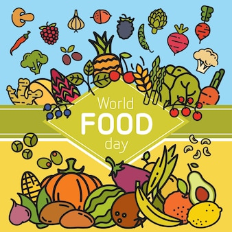 World food day banner.