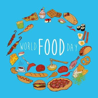 World food day banner.