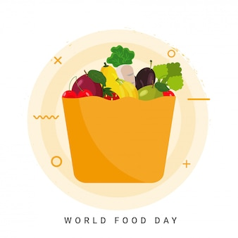 World food day concept.