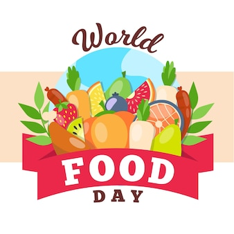 World food day event concept