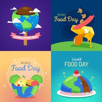 World food day illustration