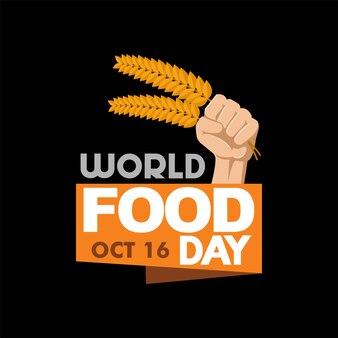 World food day logo illustration