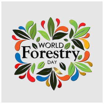 World forestry day background