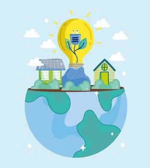 Мировая зеленая энергия и дома