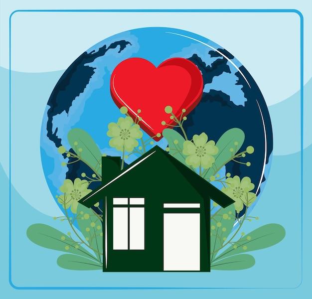 세계 서식지의 날 그린 하우스
