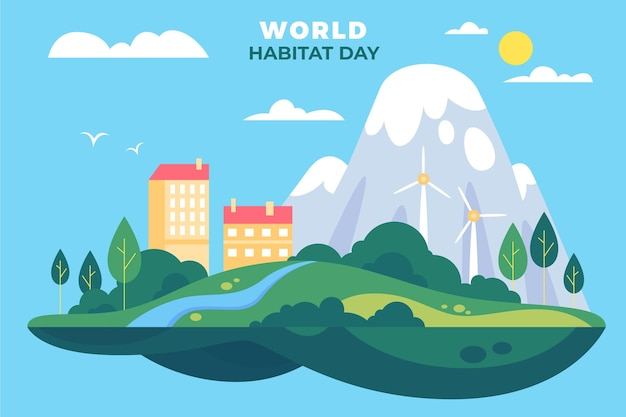 World habitat day theme