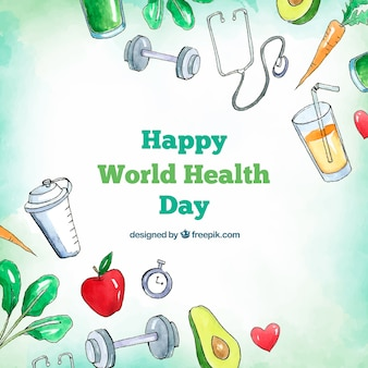 World health day background