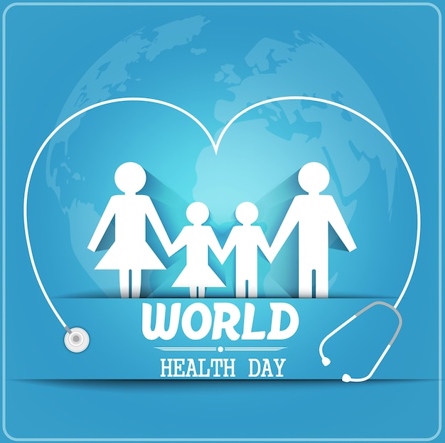 Концепция дня здоровья в мире