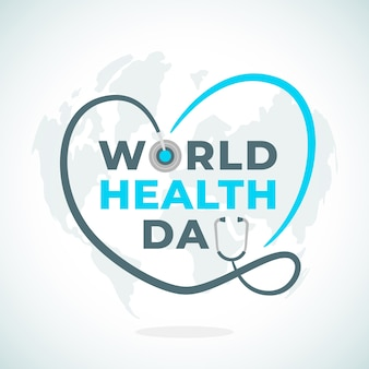 World health day event concept
