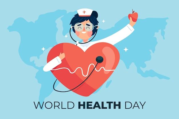 World health day event design