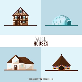 World houses collection