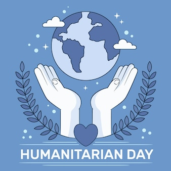 World humanitarian day draw