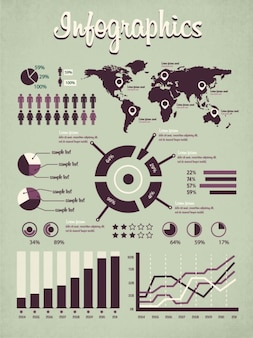 World infographics