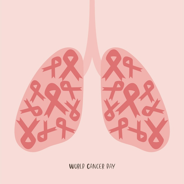 World lung cancer day.