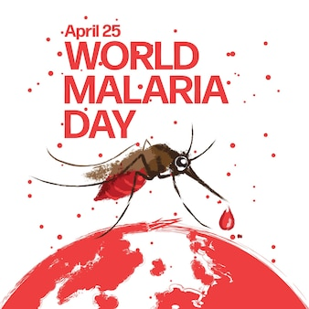 세계 말라리아의 날 디자인