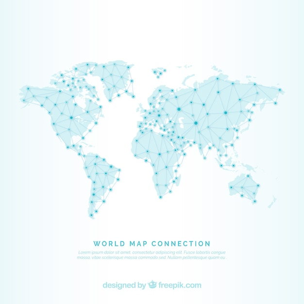Map grid vector black and white dots us dotted world map vectors photos and psd files free download gumiabroncs Image collections