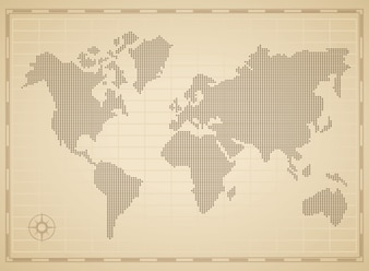 World map concept